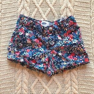 Floral Old Navy shorts